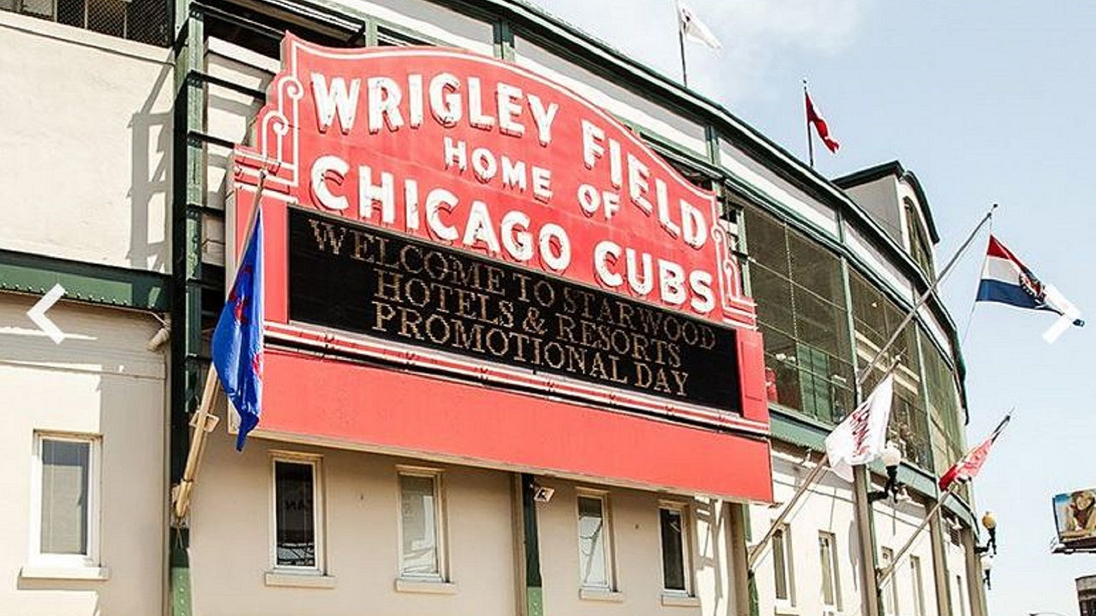 Chicago Sports featuring Wrigley Field